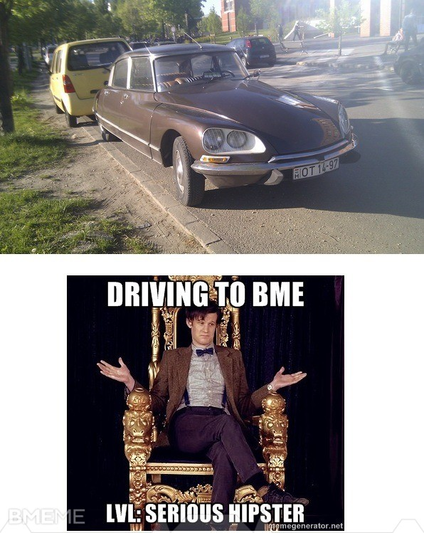 DRIVING LVL: SERIOUS HIPSTER